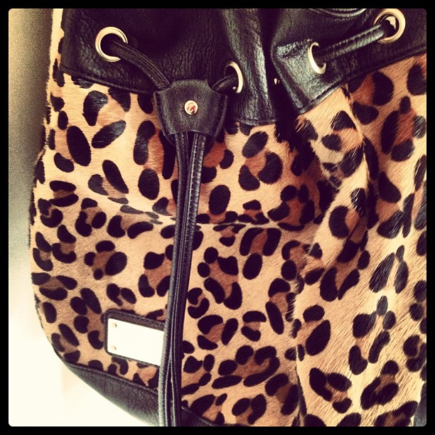 New Look Leopard Print Bag