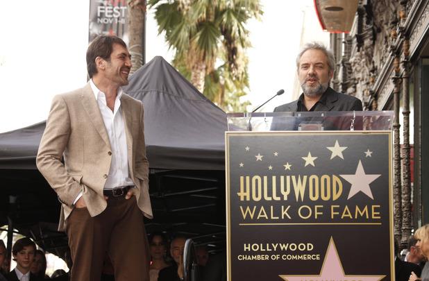 <b>Javier Bardem's Walk...</b>