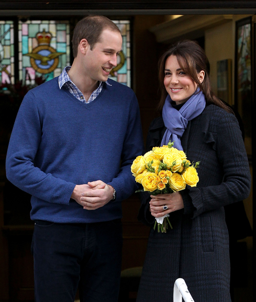 <b>Kate Middleton Leave...</b>