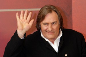 Gerard Depardieu Protests Against  High Taxes in France