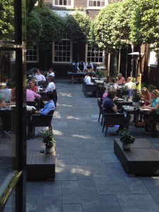 Inner Courtyard at The Dylan
