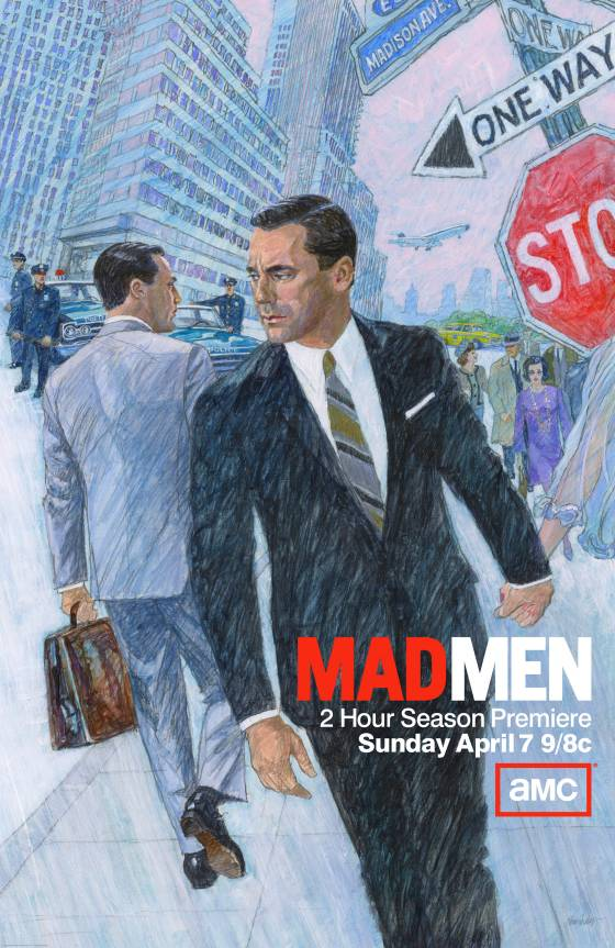 AMC's Mad Men promo poster
