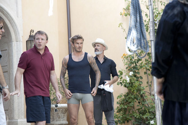 <b>David Beckham In His...</b>
