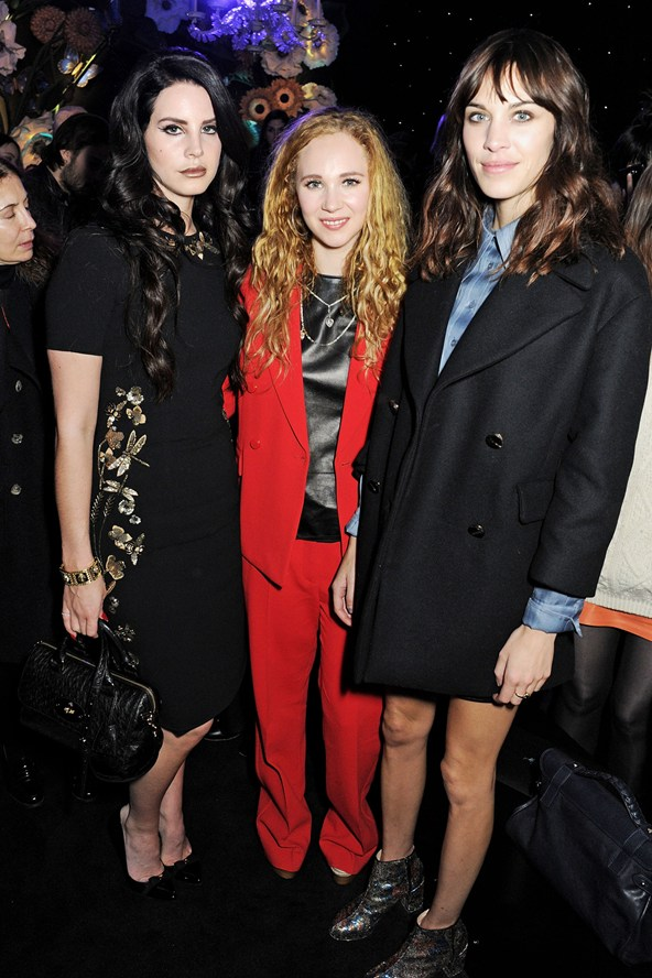 Lana Del Rey, Juno Temple, Alexa Chung @ Mulberry