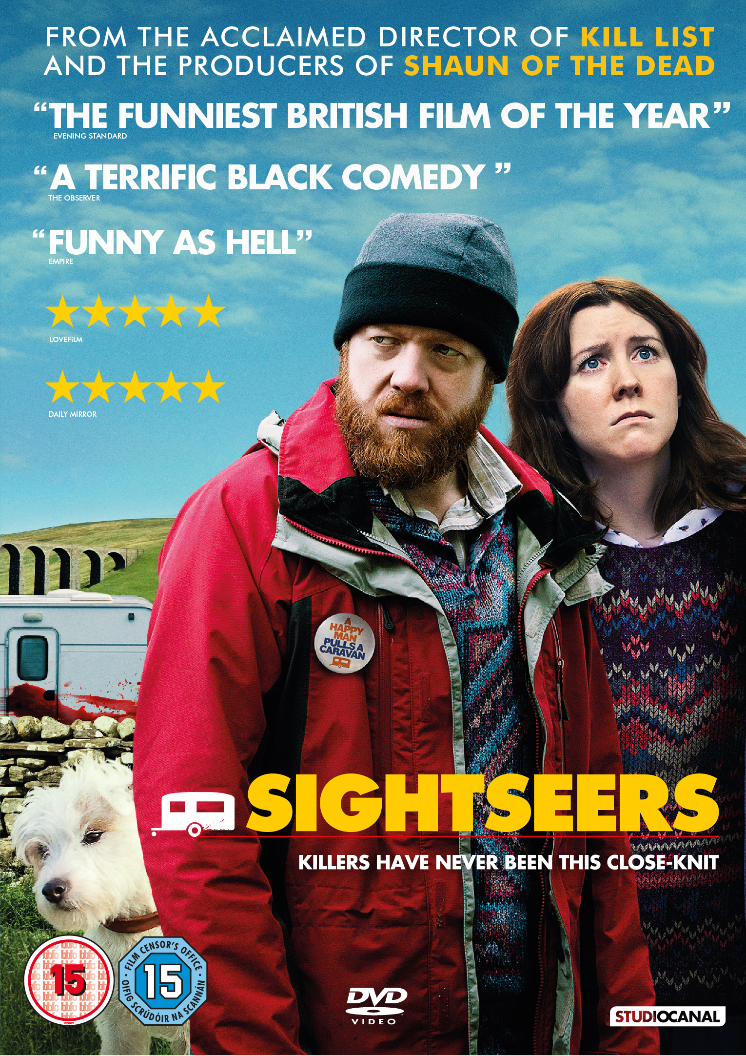 <b>Sightseers out on DV...</b>
