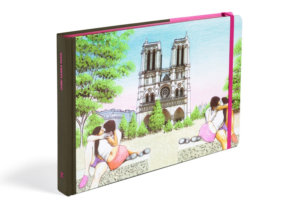 The cover of Paris by Chéri Samba.