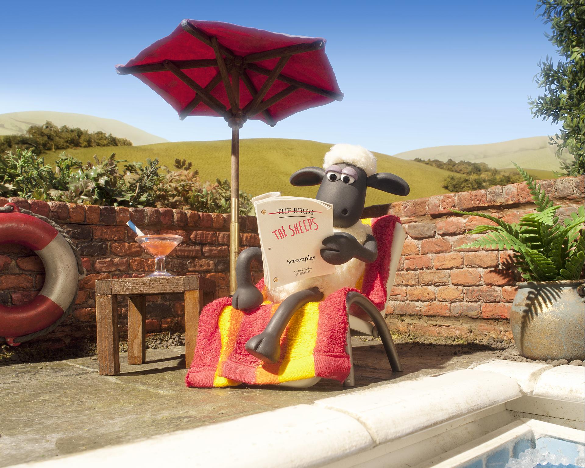 <b>Shaun the Sheep...</b>