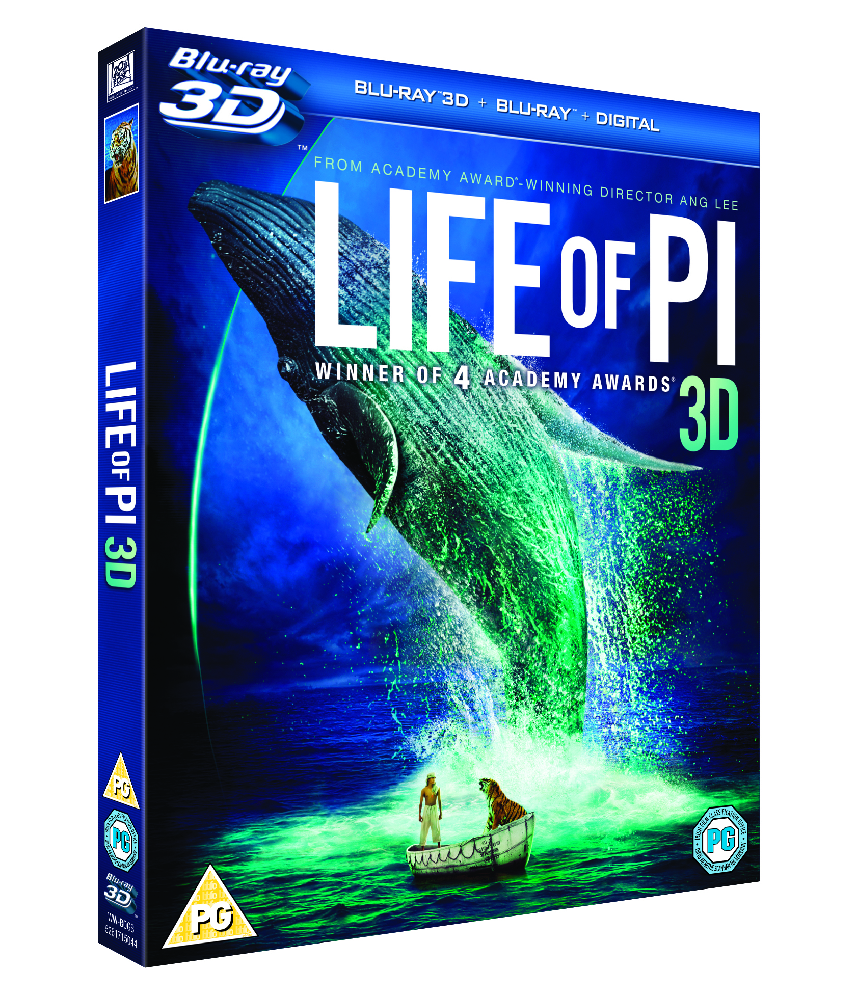Life of Pi 3D Blu-ray- Final