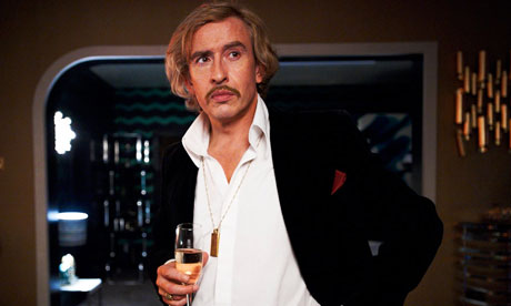 Steve Coogan as Paul Raymond in the biopic The Look of Love