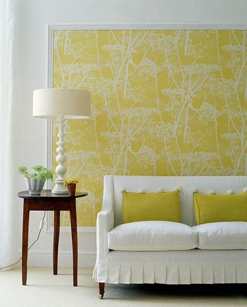 moulding wallpaper
