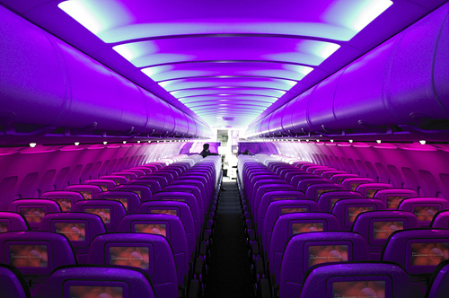 Does Virgin America Or Jet Blue Have More Seat Room