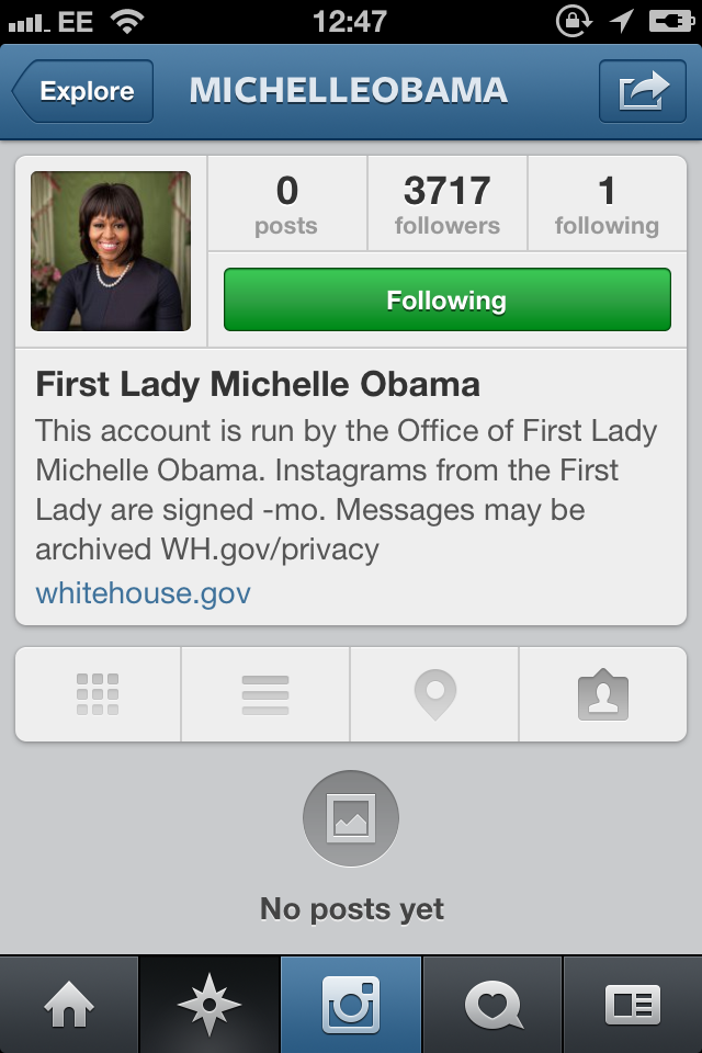 <b>Michelle Obama Joins...</b>