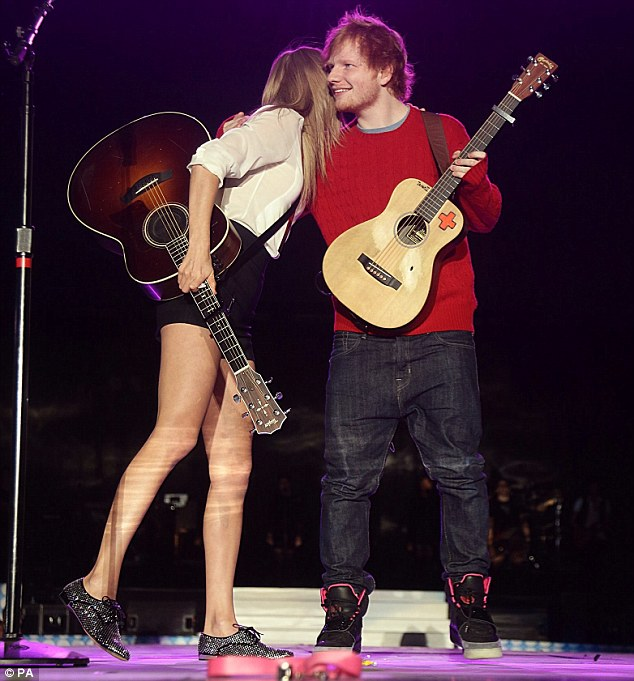 <b>Ed Sheeran Joins Tay...</b>