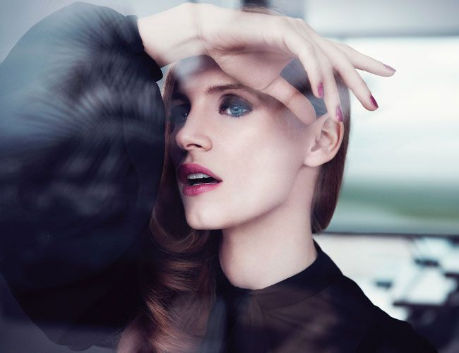 <b>Jessica Chastain for...</b>