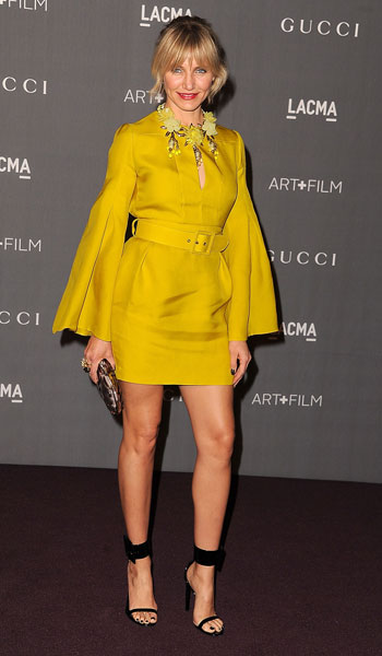 Cameron Diaz in Gucci - October, 2012