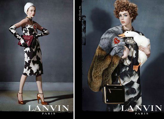 Edie Campbell for Lanvin