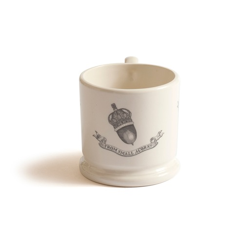 'From Small Acorns' mug