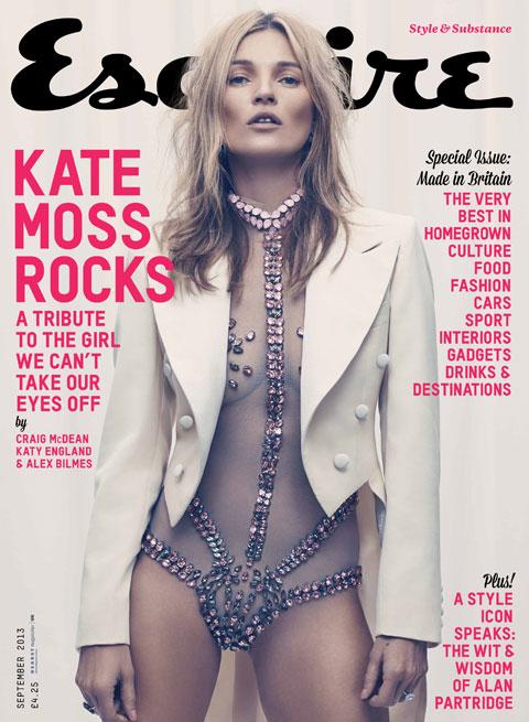 <b>Kate Moss' Sparkling...</b>