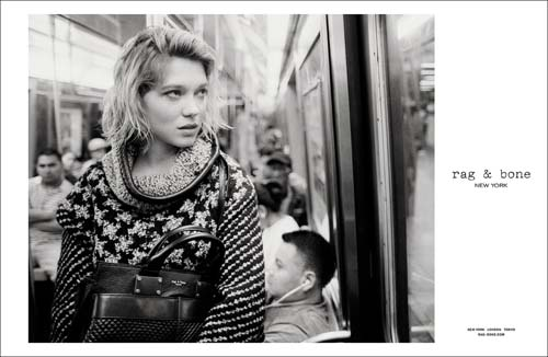 Lea Seydoux for Rag and Bone