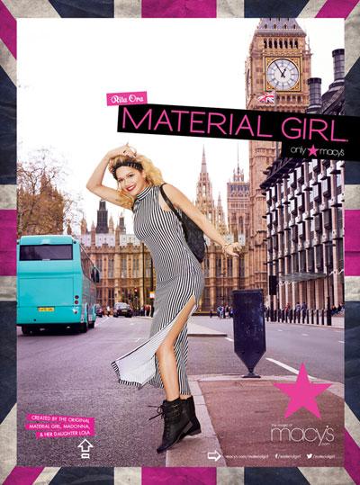 <b>Material Girl, Rita ...</b>