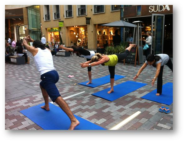 <b>Yotopia Outdoor Yoga...</b>