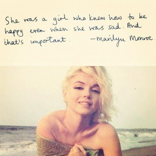<b>Love, Marilyn ...</b>