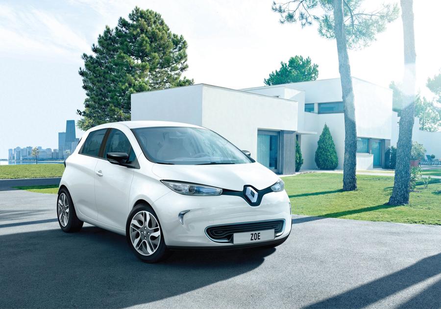 <b>Renault Zoe...</b>