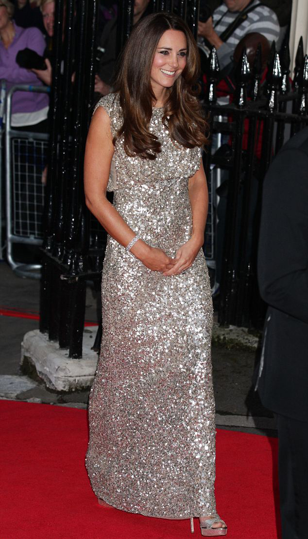 <b>Kate Middleton Dazzl...</b>