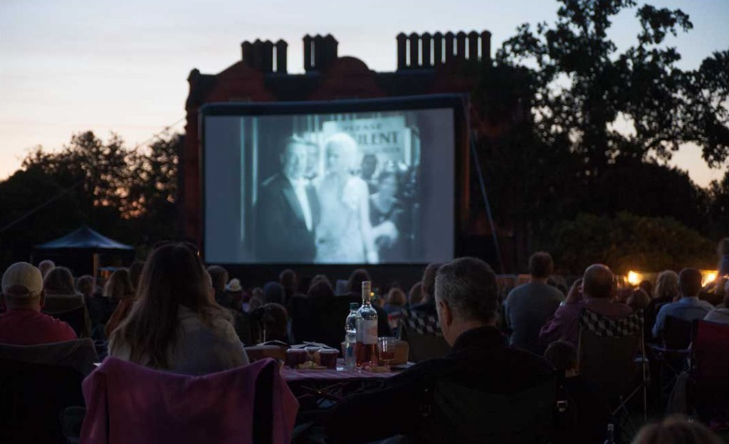 kew gardens outdoor cinema