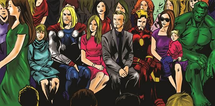 <b>If LFW Were A Comic ...</b>