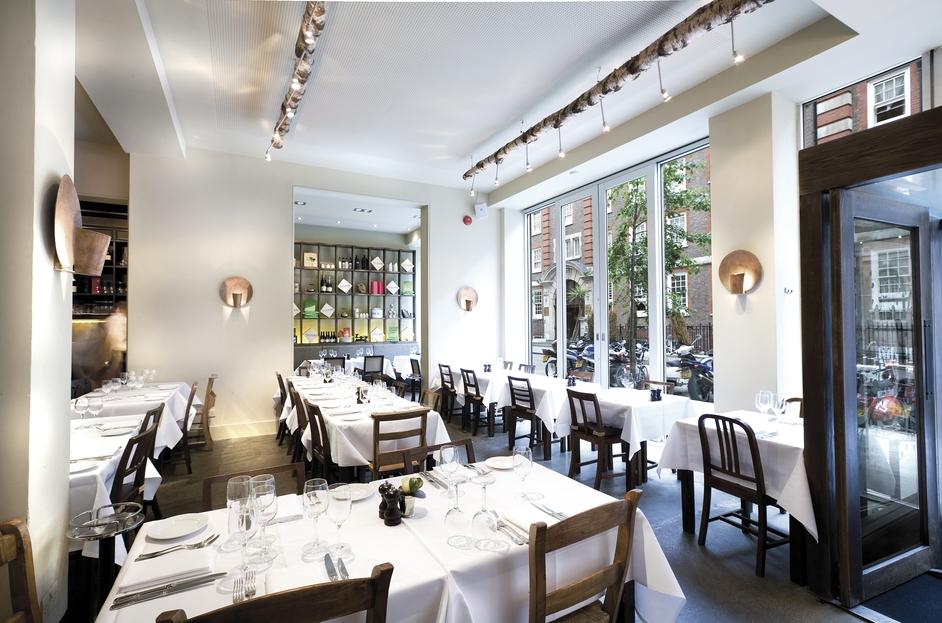 Basil Restaurant In St James