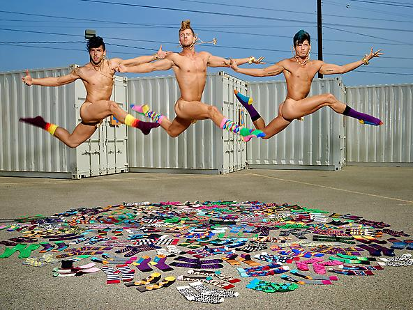 Happy Socks by David LaChapelle