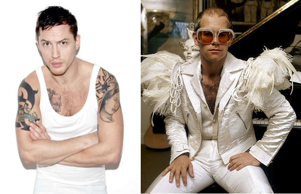 Tom Hardy, Sir Elton John