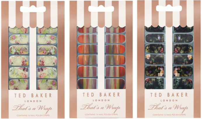 <b>TED BAKER NAIL WRAPS...</b>
