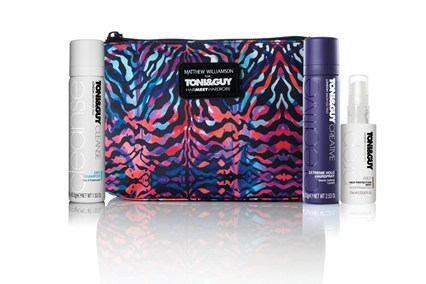 Matthew Williamson for TONI&GUY