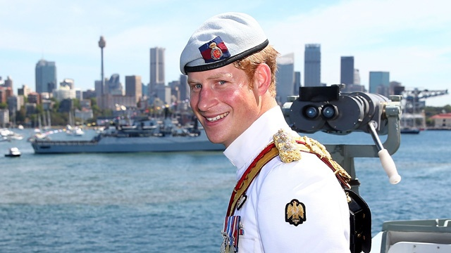 <b>PRINCE HARRY STEALS ...</b>