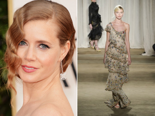 Amy Adams and Marchesa AW14