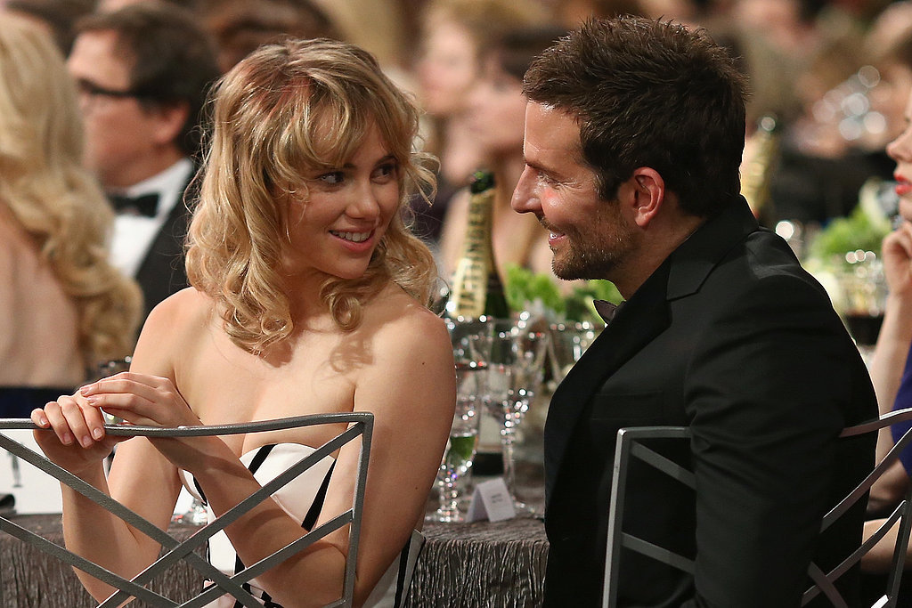 Suki Waterhouse and Bradley Cooper at the SAG Awards 2014