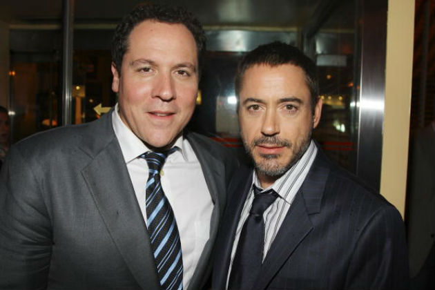 Jon Favreau & Robert-Downey Jr