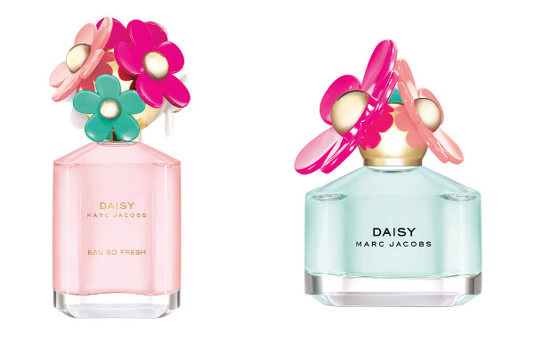 Daisy Marc Jacobs Delight and Daisy Eau So Fresh Marc Jacobs Delight
