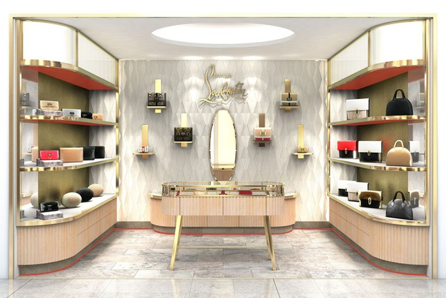 CHRISTIAN LOUBOUTIN CONCESSION AT HARVEY NICHOLS | Beauty And The ...