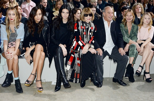 Topshop Unique - Ashleigh Madekwe, Kendall Jenner, Anna Wintour, Sir Philip Green, Kate Moss, Lottie Moss
