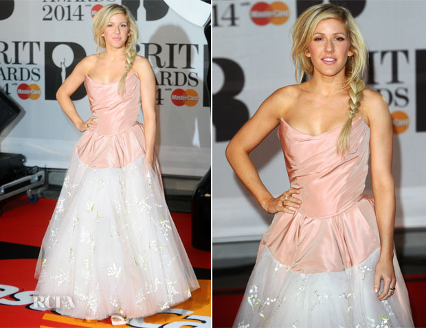 Ellie Goulding won the award for British Female Solo Artist.