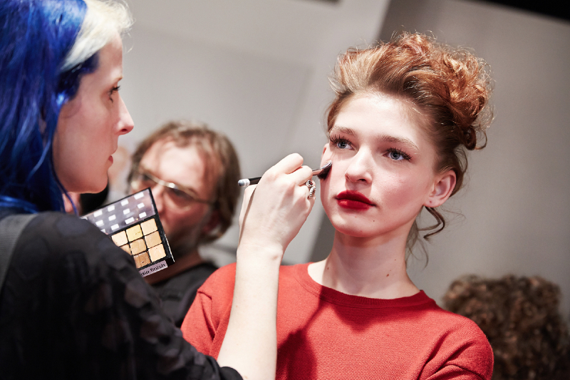 MAC Cosmetics at Vivienne Westwood AW14