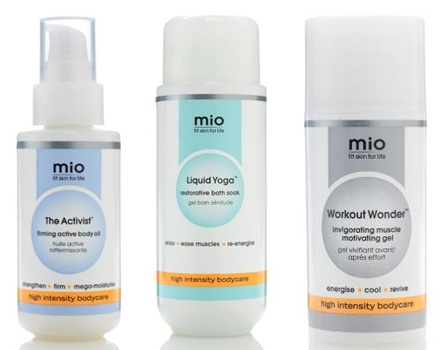 Mio Bodycare available at SpaceNK.com.