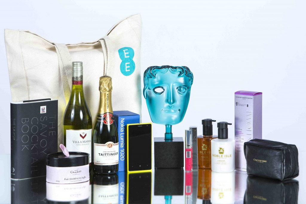 EE BAFTA goody bag