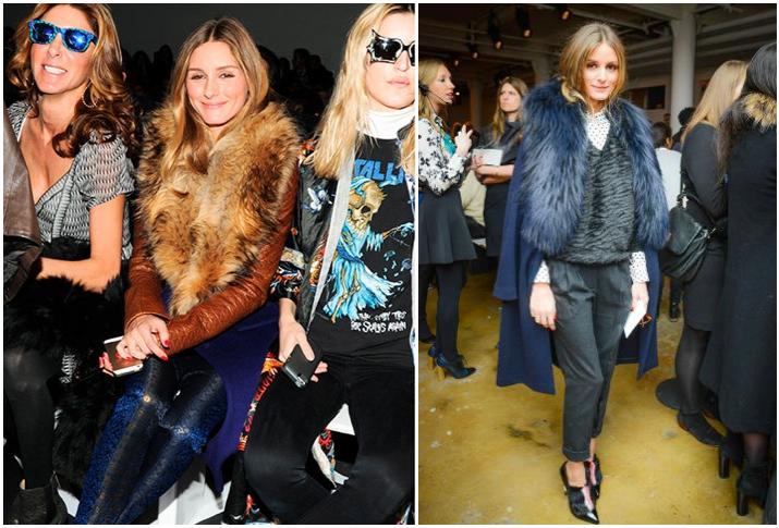 New York Fashion Week AW14 - Diane Von Furstenberg, Peter Som.