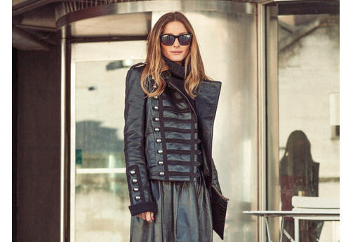 Olivia Palermo London Fashion Week AW14 - Preen