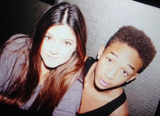 Kylie Jenner and Jaden Smith.