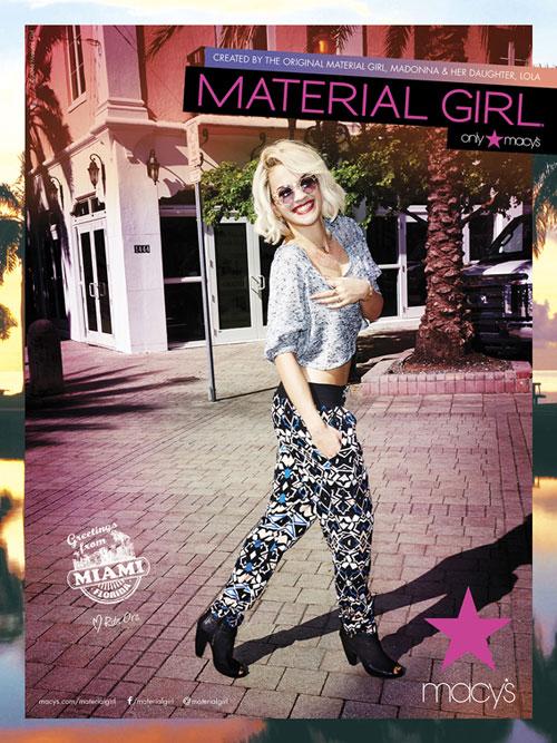 Rita Ora for Material Girl